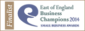 Accountants Harrow - East of England Business Champion 2014